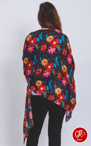 Sunflower Printed Scarves for women