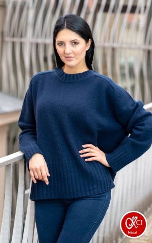 Oversize Cashmere Pullover For Women