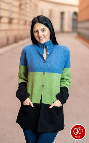 Multicolor Cardigan For Women