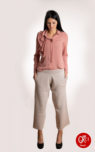 Cashmere Trouser Pants For Women