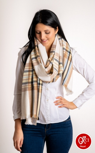 Multicolor Scarve For Women