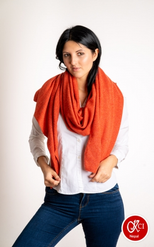 Plain Color Cashmere Scarve For Women