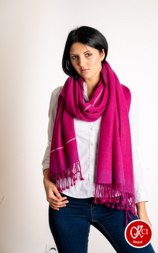 Cashmere Designed Scarve For Women